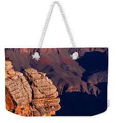 Weekender Tote Bag featuring the photograph Grand Canyon 24 by Donna Corless