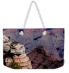 Weekender Tote Bag featuring the photograph Grand Canyon 3 by Donna Corless
