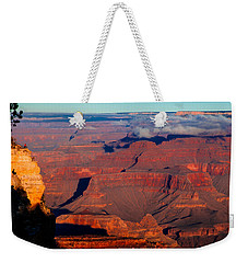 Weekender Tote Bag featuring the photograph Grand Canyon 32 by Donna Corless