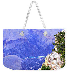 Weekender Tote Bag featuring the photograph Grand Canyon 86 by Will Borden