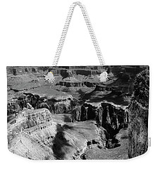 Grand Canyon Bw Weekender Tote Bag by RicardMN Photography