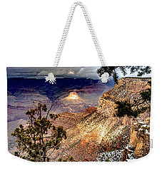 Grand Canyon In Winter Weekender Tote Bag