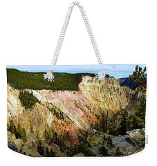 Grand Canyon Of The Yellowstone Weekender Tote Bag