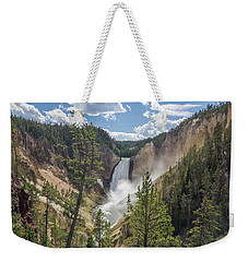Grand Canyon Of Yellowstone Weekender Tote Bag by Alpha Wanderlust