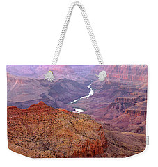 Grand Canyon River View Weekender Tote Bag