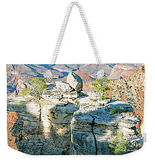 Weekender Tote Bag featuring the photograph Grand Canyon Rock Formations, Arizona by A Gurmankin