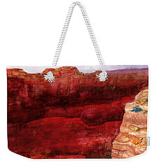 Grand Canyon S Rim Weekender Tote Bag