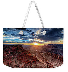 Grand Canyon Sunburst Weekender Tote Bag