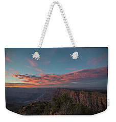 Grand Canyon Sunset 1943 Weekender Tote Bag by David Haskett