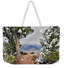 Grand Canyon Through The Trees Weekender Tote Bag