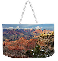 Grand Canyon View Weekender Tote Bag