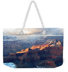 Grand Canyon With Snow Weekender Tote Bag