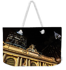 Grand Central Nocturne Weekender Tote Bag by Steven Richman