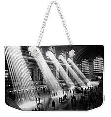 Grand Central Station New York City Weekender Tote Bag by Jon Neidert
