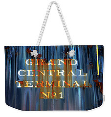 Weekender Tote Bag featuring the photograph Grand Central Terminal No 1 by Karol Livote