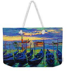 Grand Finale In Venice Weekender Tote Bag by Chris Brandley