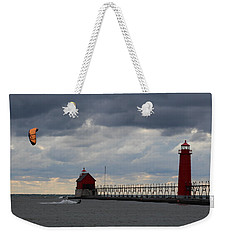 Grand Haven Wind Surfing Weekender Tote Bag