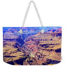 Grand Haze Canyon Weekender Tote Bag
