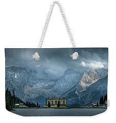 Grand Hotel Misurina Weekender Tote Bag