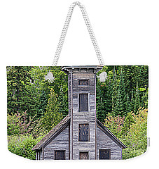 Weekender Tote Bag featuring the photograph Grand Island East Channel Lighthouse #6554 by Mark J Seefeldt