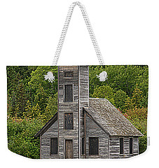 Weekender Tote Bag featuring the photograph Grand Island East Channel Lighthouse #6664 by Mark J Seefeldt