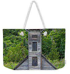 Weekender Tote Bag featuring the photograph Grand Island East Channel Lighthouse #6672 by Mark J Seefeldt