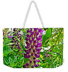 Grand Lake Purple Weekender Tote Bag