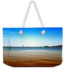 Grand Marais Harbor Weekender Tote Bag