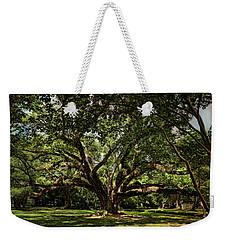 Grand Oak Tree Weekender Tote Bag