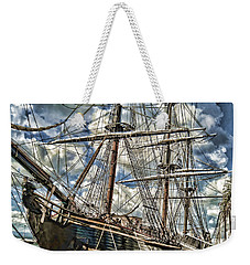 Weekender Tote Bag featuring the photograph Grand Old Sailing Ship by Roberta Byram