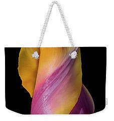 Grand Opening - Purple And Yellow Tulip 001 Weekender Tote Bag