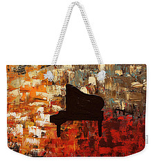 Grand Piano Weekender Tote Bag
