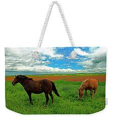 Grand-pre Horses Weekender Tote Bag