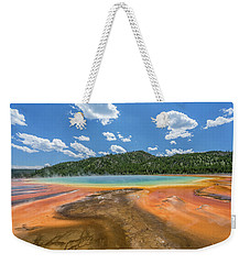 Grand Prismatic Weekender Tote Bag by Alpha Wanderlust