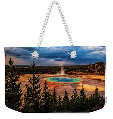 Grand Prismatic Pool - Yellowstone Weekender Tote Bag