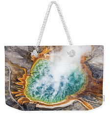 Grand Prismatic Spring 1 Weekender Tote Bag
