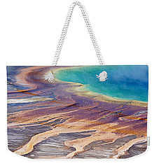 Grand Prismatic Spring 2 Weekender Tote Bag