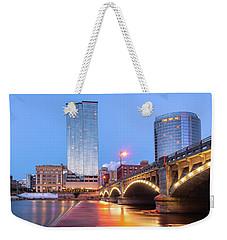 Grand Rapids Riverfront Weekender Tote Bag