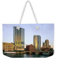 Grand Rapids Sunset Weekender Tote Bag