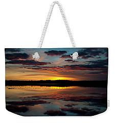 Grand River Sunset Weekender Tote Bag