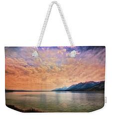 Grand Teton National Park - Jenny Lake Weekender Tote Bag