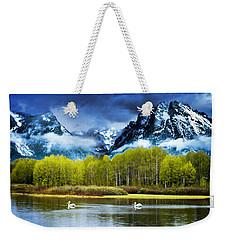 Grand Teton National Park Weekender Tote Bag