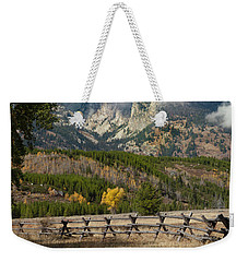 Grand Teton National Park, Wyoming Weekender Tote Bag