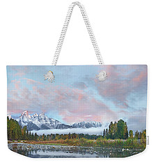 Grand Teton National Park, Wyoming Weekender Tote Bag