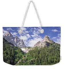 Grand Teton Peaks Weekender Tote Bag