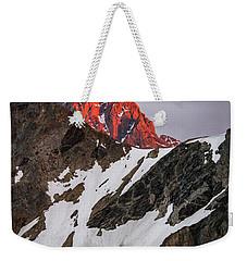 Grand Teton Sunset 2 Weekender Tote Bag by Serge Skiba