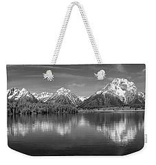 Grand Teton Tranquility Weekender Tote Bag