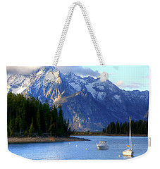 Grand Tetons Weekender Tote Bag by Charlotte Schafer