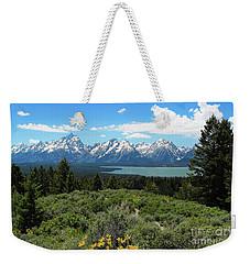 Grand Tetons Weekender Tote Bag