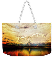 Grand Tetons - Jenny Lake No. 2 Weekender Tote Bag